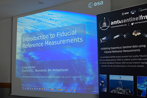 Presentation slide for Fiducial Reference Measurements